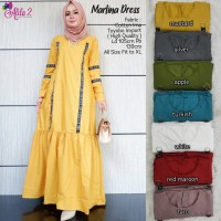 Marlina dress muslim gamis by Alila 2