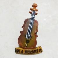 Magnet Kulkas Mozart Biola