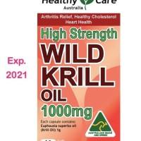 Healthy Care Wild Krill Oil 1000mg 60 kapsul