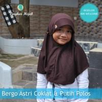 Jilbab Anak Warna Coklat Pramuka Ukuran L Harga Grosir Murah Supplier
