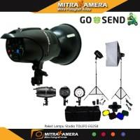 Paket Lampu Studio TOLIFO EG250