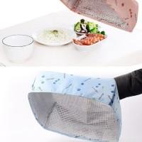 Tudung Saji Tudung Meja Makan Tudung Nasi with Penahan Panas Aluminium