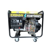Genset Welder Firman FDW 7800 E2 - Generator
