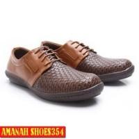 SEPATU CASUAL ORI Dr. Kevin Men Shoes 13302 - Tan