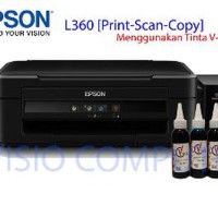 Printer Epson L360 Print-Scan-Copy V-ink Used Foto Quality Byapri142