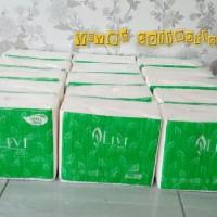 tissue kering wajah facial livi eco refill 600 sheets tisu hotel tissu