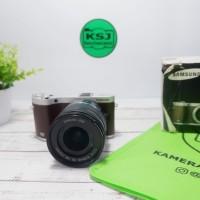 Kamera Mirrorless Samsung NX300 Fullset bkn DSLR Canon Nikon Sony