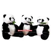 Boneka Panda M 35cm SNI