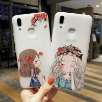 Case HP Gambar Perempuan Cantik untuk vivo X7 X7 Plus X9 X9 Plus X9S
