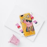 Casing Case Motif Babi untuk Handphone oppo r9s r9plus F3 Plus R11