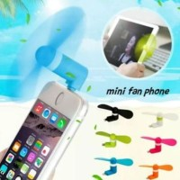 (DC010) Kipas Angin Mini Usb Untuk Iphone 5.6 Mini Fan Langsung Ke HP