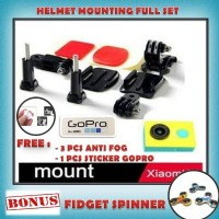 Helmet Mount Helmet Mounting cocok buat nge vlog mounting helm For