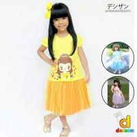 Dress Anak Perempuan Princess Dessan