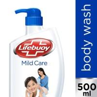 Harga kecantikan lifebuoy sabun mandi cair mild care pump 500ml   antitipu.com