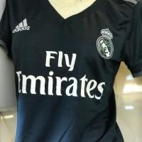 Jersey Ladies Real Madrid Away 2018 - 2019 Grade Ori Thailand