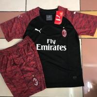 Jersey Anak / Kids AC Milan 3Rd 2018 - 2019 Grade Ori