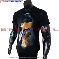 Harga kaos distro premium burung murai kecil medan baju pakaian t | Pembandingharga.com