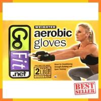 Go Fit Aerobik Glove Sarung Tangan Aerobik Hitam Pelindung Tangan