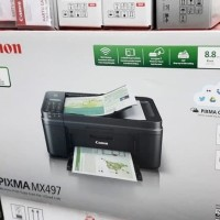 Printer Canon Pixma MX497 (print, scan, copy, fax, wifi)