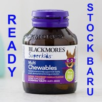 Jual BLACKMORES Superkids Superkid Super Kids Kid Multi Chewables Chewable Murah
