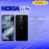 Nokia 6.1 Plus (X6) - Garansi Resmi