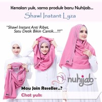 Promo Hijab Simple Praktis Modis Jilbab Harian Formal Shawl Instan