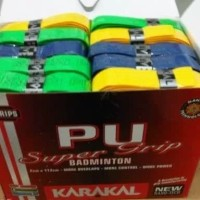 Grip Raket Karakal Tebal PU Super Grip Badminton