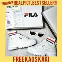 Fila DISRUPTOR II 2 ORIGINAL KOREA Destroyer sepatu sneakers sport