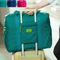 NEW N FOLDABLE TRAVEL BAG /HAND CARRY TAS LIPAT / KOPER LUGGAGE