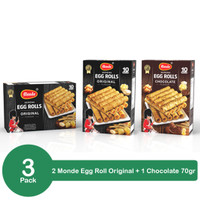 Bundling 3 Pack Monde Egg Roll 70gr