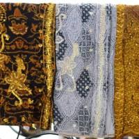 Kain wiron batik payet bordir nikah pengantin bawahan kebaya wisuda