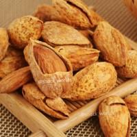500gram Almond Roasted ( Kacang Panggang ) USA California in Shell bakar