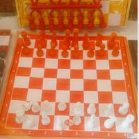 mainan catur plastik mini size tidak magnet