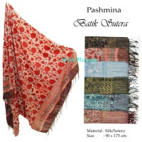 EXCLUSIVE PASHMINA BATIK SUTER