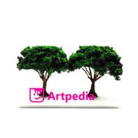 MAKET Pohon Cabang Rindang/ Diorama Pohon / Miniatur Pohon 6 cm