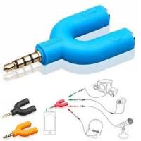 jack Audio Splitter Model - U Aux Jack 2 In 1 Spliter