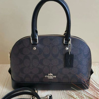 Tas Coach Mini Sierra Mahogany Authentic Asli 1036174c0b