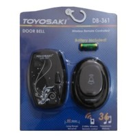 Bel Pintu / Bel Rumah / Door Bell Wireless TOYOSAKI DB-361 DB361 Hitam