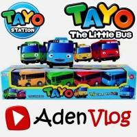 Bis Tayo The Little Bus Pull Back 4 Pcs - Mainan Anak Cerdas Kreatif