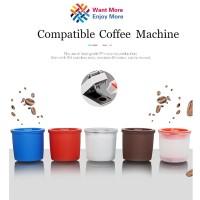 saringan kopi filter 3Pcs Reusable iperEspresso Capsule Refillable Co