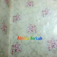 Harga wallpaper bunga pink dasr batik hijau wallpaper | antitipu.com