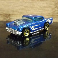 DIECAST HOT WHEELS 57 CHEVY 3SP GOLD 50s Cruisers 5-Pack - LOOSE