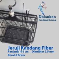Jeruji Kandang Burung Fiber | Jeruji Fiber | Jeruji 2.5mm Fiber