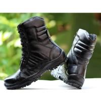 Sepatu PDL Pria/Boots Kulit Asli/TNI POLRI DELTA FORCE TT/sepatu murah