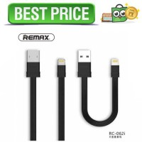 Remax Tengy 2 in 1 Lightning USB Cable - RC-062i - Hitam