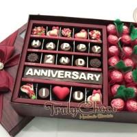 hadiah kado anniversary cokelat Trulychoco special untuk tercinta