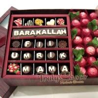 Hadiah kado special ulang tahun cokelat Trulychoco