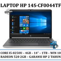 Notebook / Laptop HP 14s-cf0044TX - Intel i5-8250u - 4GB - 1TB - WIN10
