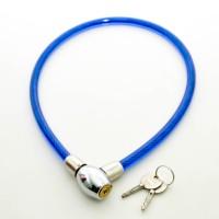 Gembok Kawat 70cm Dengan Kunci / Gembok Sepeda Helm Cable Lock