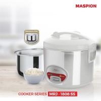 Magic Com Maspion MRJ - 1808 SS Rice Cooker Murah Surabaya